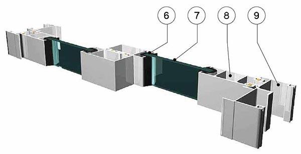 Системы остекления балконов provedal немецкие пластиковые ок.