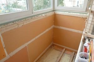 Надежная отделка и утепление балкона