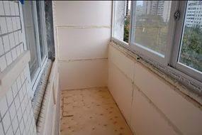 Некоторые особенности отделки балконов и лоджий