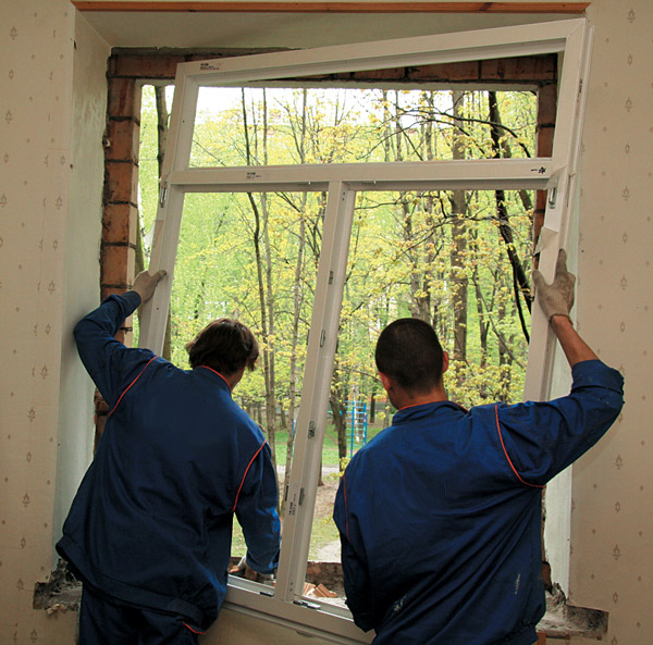 Как установить окно пвх своими руками в кирпичном доме