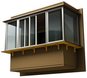 Какие особенности есть у остекления балконов с выносом